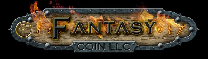 Fantasy Coins For Board Games, RPG, LARP, Movie Props & Fun