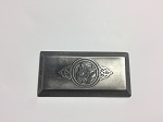 Large Antique Platinum Dwarven Bar