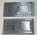 Large Antique Silver Elven Bar