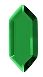 Green Hex Gem (single)