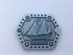 10 Piece Water Helm Hex Silver Coins