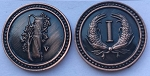 Colonial Copper Coin Set