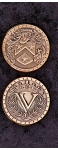 Nottingham Copper Coin Set