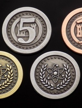 Atomic Age 5 Value Silver Coin Set