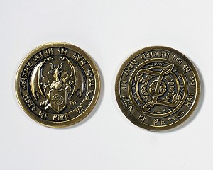 """10 Piece"" Fire Gold Coin Set"