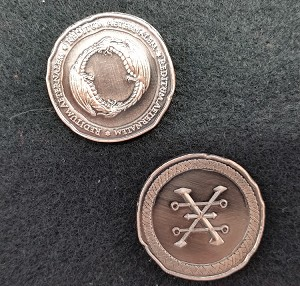 Draco Copper Coin Set (30 Coins)