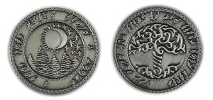 """10 Piece"" Elven Silver Coin Set"