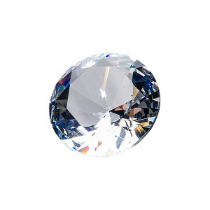 Diamond Glass Gem (single)