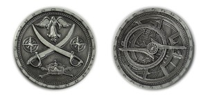 """10 Piece"" Pirate Silver Coin Set"