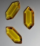 Yellow Hex Gem (single)