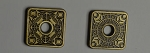10 Piece Water Helm Square Gold Coins