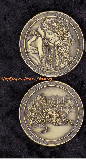 Goddess Gold Coin Set