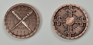 """10 Piece"" Barbarian Copper Coin Set"
