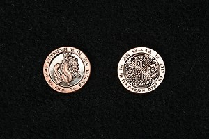 """10 Piece"" Fire Copper Coin Set"