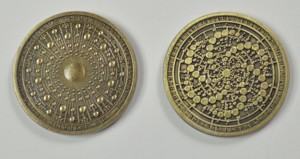 Aged Gold Fantasy Coins