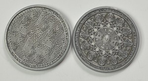 """10 Piece"" Sci Fi Silver Coin Set"