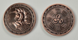 """10 Piece"" Water Copper Coin Set"